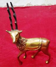 Brass Dear Buck Doe Stag Reindeer Fawn Figurine Home Decor Unique Gift Bm-259
