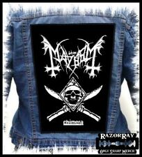 MAYHEM - Chimera --- Huge Jacket Back Patch Backpatch