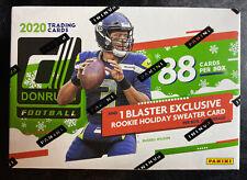 2020 Panini Donruss Football Rookie Holiday🎄💥Sweater Blaster Box NEW RELEASE