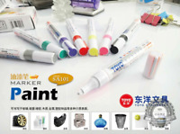 Waterproof Colorful Marker White Markers Tire Tread Rubber Fabric Paint Metal