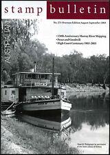 Australia Aug-Sept 2003 No.271 Stamp Bulletin Magazine #C40984