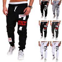 Men's Casual Jogger Dance Sportwear Baggy Trousers Sweatpants Harem Pants Slacks