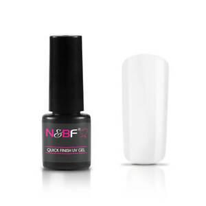 N&BF Quick Finish Top Coat 8 ml - UV / LED Hochglanz Nagel Gel Versiegelung