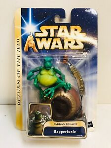 """STAR WARS RAPPERTUNIE JABBAS PALACE ACTION FIGURE 3.75"""""""