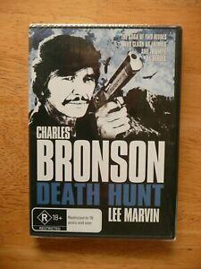 DEATH HUNT DVD CHARLES BRONSON LEE MARVIN NEW/SEALED REGION 4 PAL AUS