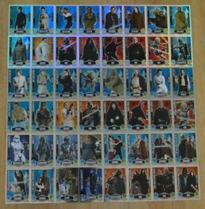 Force Attax Movie Card Serie 1 Force Meister aussuchen Topps Star Wars Karten