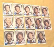 1981  PENRITH  PANTHERS  SCANLENS RUGBY LEAGUE CARDS