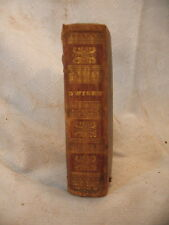 DWIGHT'S PSALMS AND HYMNS ISAAC WATTS NATHAN WHITING ANTIQUE OLD HYMNAL 1827