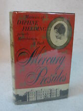 Daphne Fielding  MERCURY PRESIDES  Harcourt, Brace 1955  First American Edition