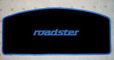 Autoteppich Hutablage für Mazda MX 5 NA roadster schwarz blau 1teilig Neuware