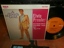 "elvis presley""a touch of gold 1""rca victor orange20222-ep7""australie/new zealand"