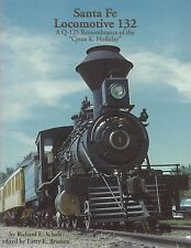 """Santa Fe Locomotive 132  -  A Q-125 Remembrance of the """"Cyrus K. Holliday"""", NEW"""