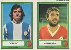 N°215 OCTAVIO / HUMBERTO EURO FOOTBALL 78 STICKER PANINI VIGNETTE CROMO PORTUGAL