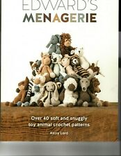 Crochet pattern book Edwards Menagerie,  40 animals to crochet