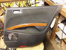 04-08 Maxima Black Right Rear Interior Door Trim Panel Back Armrest Handle