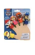 New Nickelodeon Paw Patrol Finger Puppets- Bath Toys