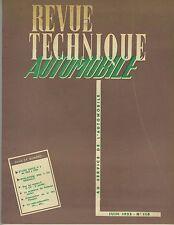 (35B)REVUE TECHNIQUE AUTOMOBILE BUICK V8 / RENAULT 4 CV / PEUGEOT 403
