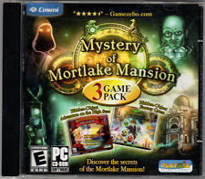 Mystery of Mortlake Mansion: 3 Game Pack (PC, 2011, Playrix Entertainment)