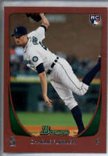 Charlie Furbush RC Rookie 1 of 1 2011 Bowman #37 Variant 1/1 Seattle Mariners