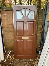 Solid Wood Front or back Door Hardwood Timber Wooden 835mm x 1970mm
