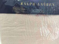 Ralph Lauren Palmer Pale Flannel Full/Queen Blanket Nip $215