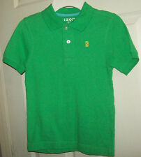 Izod Polo Shirt Green Sport Casual School  EASTER! Boys Size 7