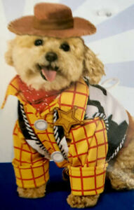 Toy Story 4~WOODY~Pet Dog/Cat Costume SZ: XS/X-Small Halloween/Dress Up Disney