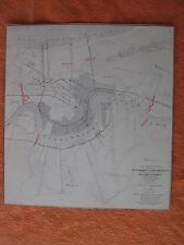 """1958 Civil War Map of - """"Approaches To New Orleans"""" - I COMBINE SHIPPING"""