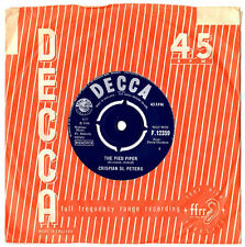 "CRISPIAN ST.PETERS.THE PIED PIPER /SWEET DAWN MY TRUE LOVE.UK ORIG 7"" & CO/SL.EX"