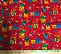 """OOP FQ Robert Kaufmann Origami Cotton Fabric FQ 18""""Lx22""""W"""