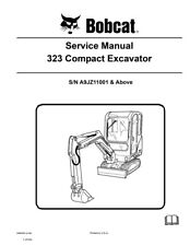 New Bobcat 323 Compact Excavator 2008 revision Repair Service Manual 6986958