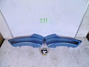 OEM FRONT BUMPER SPOILER MITSUBISHI OUTLANDER SPORT RVR 11 12 AIR DAM KIT BLUE
