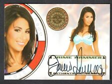"BENCH WARMER ""VEGAS BABY"" 2012 Autograph Card Signed by JAIME HAMMER"