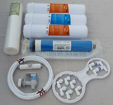 For All RO Water Filter 1Year Service Kit+80 GPD Vontron Membrane+ 1 TDS Meter