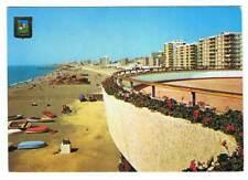 Postal de Torre del Mar, Málaga. Paseo Marítimo. Club Náutico. Escudo de Oro. Es