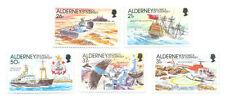 Ships, Boats Alderney Regional Stamp Issues