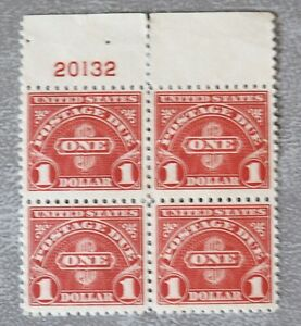 USA Scott # J77 MNH block of 4 - Buyer Will Get 1 Block - Mint And Beautiful