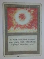 MTG Magic the Gathering English Sol Ring 1994 Revised 3rd HP