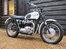 1966 TRIUMPH TT SPECIAL VINTAGE MOTORCYCLE POSTER PRINT 27x36