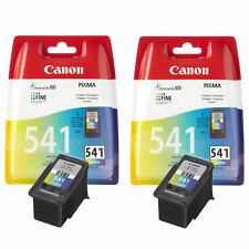 2x Original Canon CL541 Colour Ink Cartridges For PIXMA MX455 Inkjet Printer