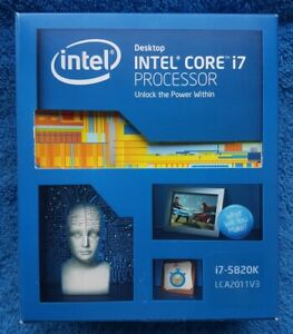 INTEL CORE i7 5820K - Boxed - 3.3GHz Six Core X99 2011v3 CPU Processor