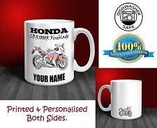 Honda CBR1000RR Fireblade Motorbike Personalised Ceramic Mug Gift (MB019)