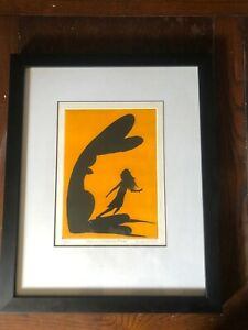 Charles Blackman Signed 21/40 Alice And March Hare Silkscreen Print