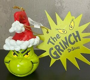 NEW Vintage Retro Style The Grinch Resin Christmas Tree Decoration Ornament