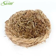 Bird Nest Breeding Nest Bird Box Wild Grass Weave Canary Finch Budgie 7 x 7inch