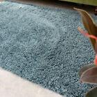 Small Large  Blue Shaggy Rugs Thick Deep Living Room Rug Long Shaggy Runner Mat