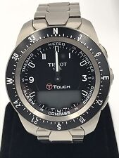 Tissot T-Touch Expert Pilot Analog-Digital T013.420.44.057.00 Men's Watch