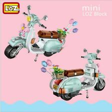 LOZ The Scooter Model Building Construction Bricks Gift Toy 673Pcs Motorcycle