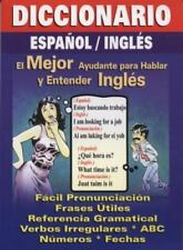 Diccionario Espanol/Ingles: Spanish/English Quick Translator (Paperback or Softb