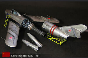 Built 1/32 MiG-17F, USSR Air Force, August 1968(ready to ship).